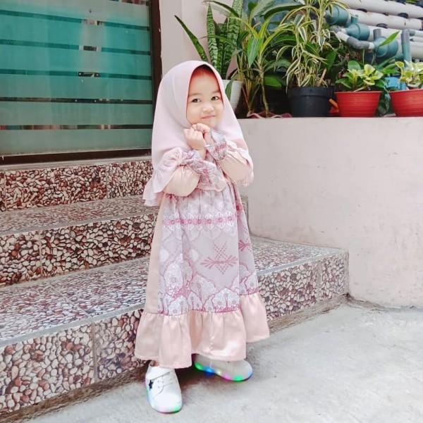 ALHAMBRA TUNIK KIDS ROSEGOLD - GDa'S by Ghaida Tsurayya
