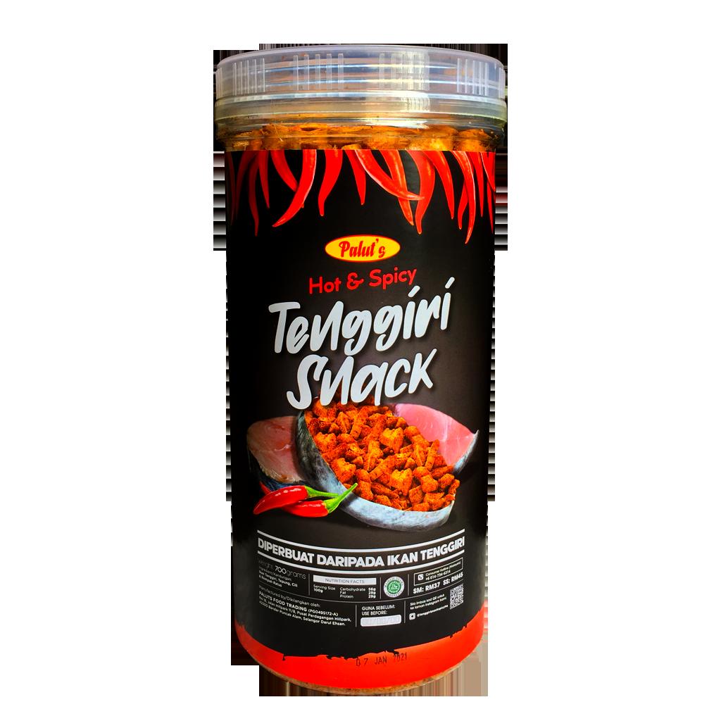|Palut's| Hot & Spicy Tenggiri Snack (700g)