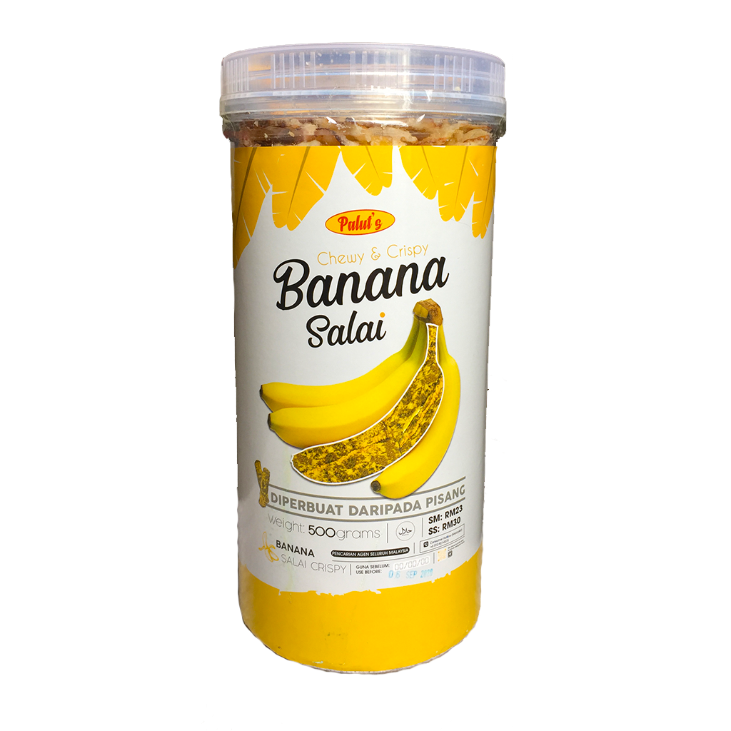 Chewy & Crispy Banana Salai (500g)