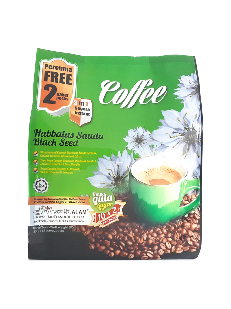HABBATUS SAUDA 3IN1 COFFEE