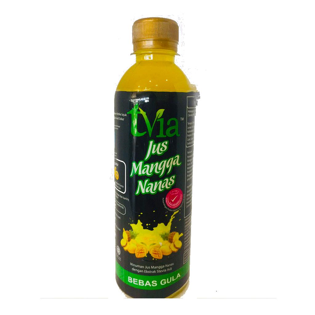 [Stevia Tvia] Jus Mangga Nanas 100% Manis Tanpa Gula