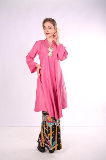 Kebarung Ayu Batik Mak Cun (Pink)