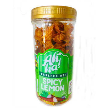 Ah'Ha Kerepek Ubi Spicy Lemon Jumbo