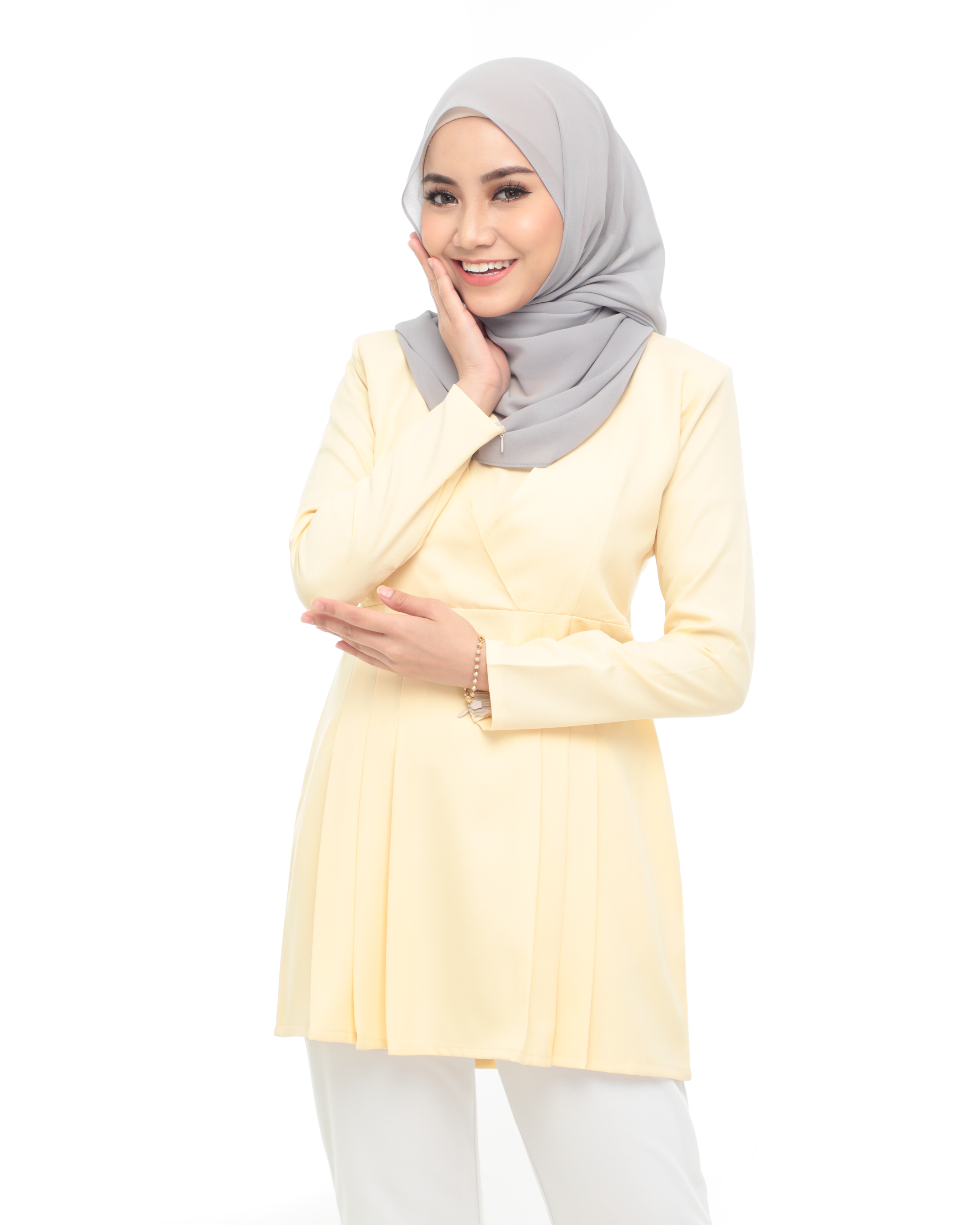 Carina Blouse -  Soft Yellow
