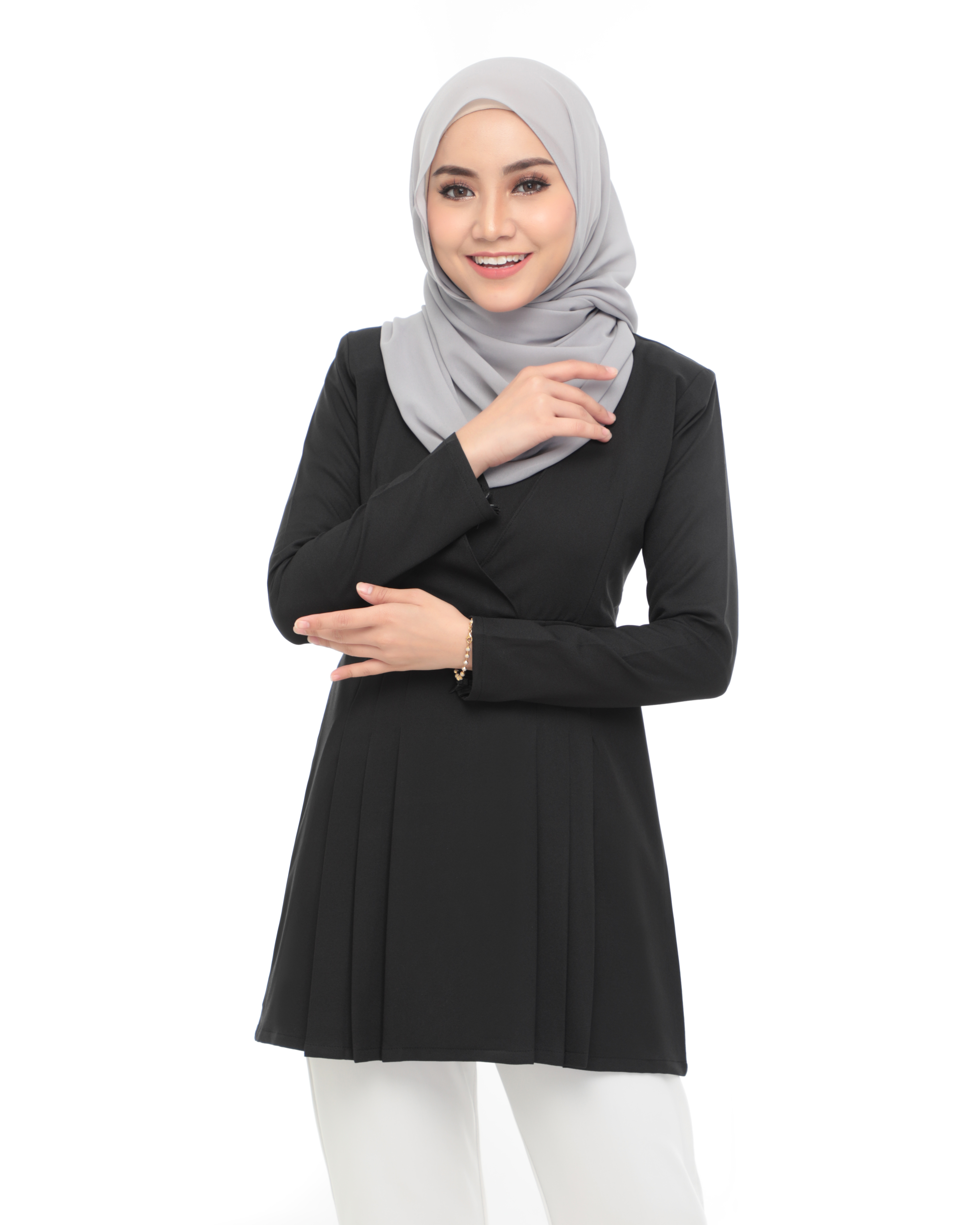 Carina Blouse - Black