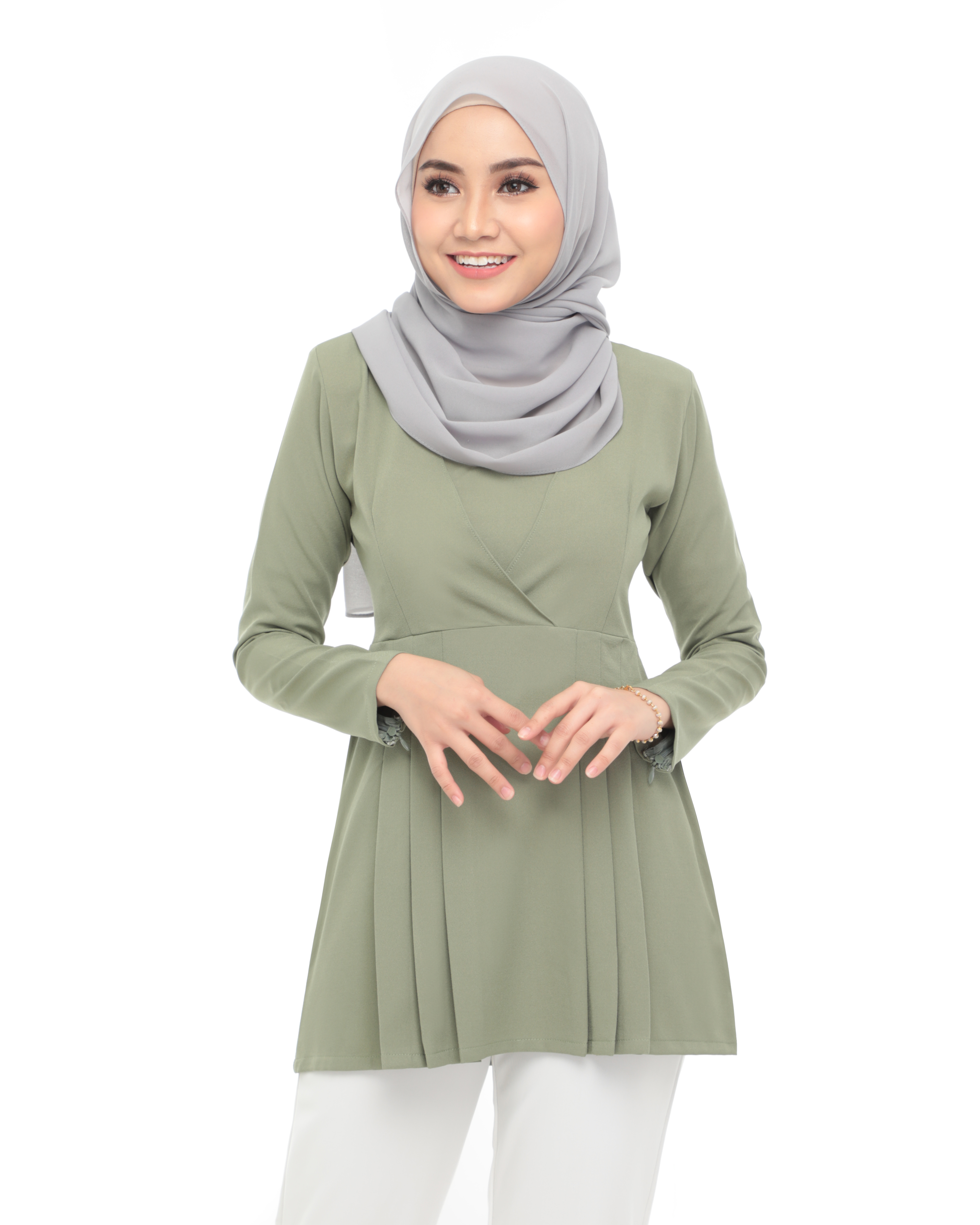 Carina Blouse -  Mist Green