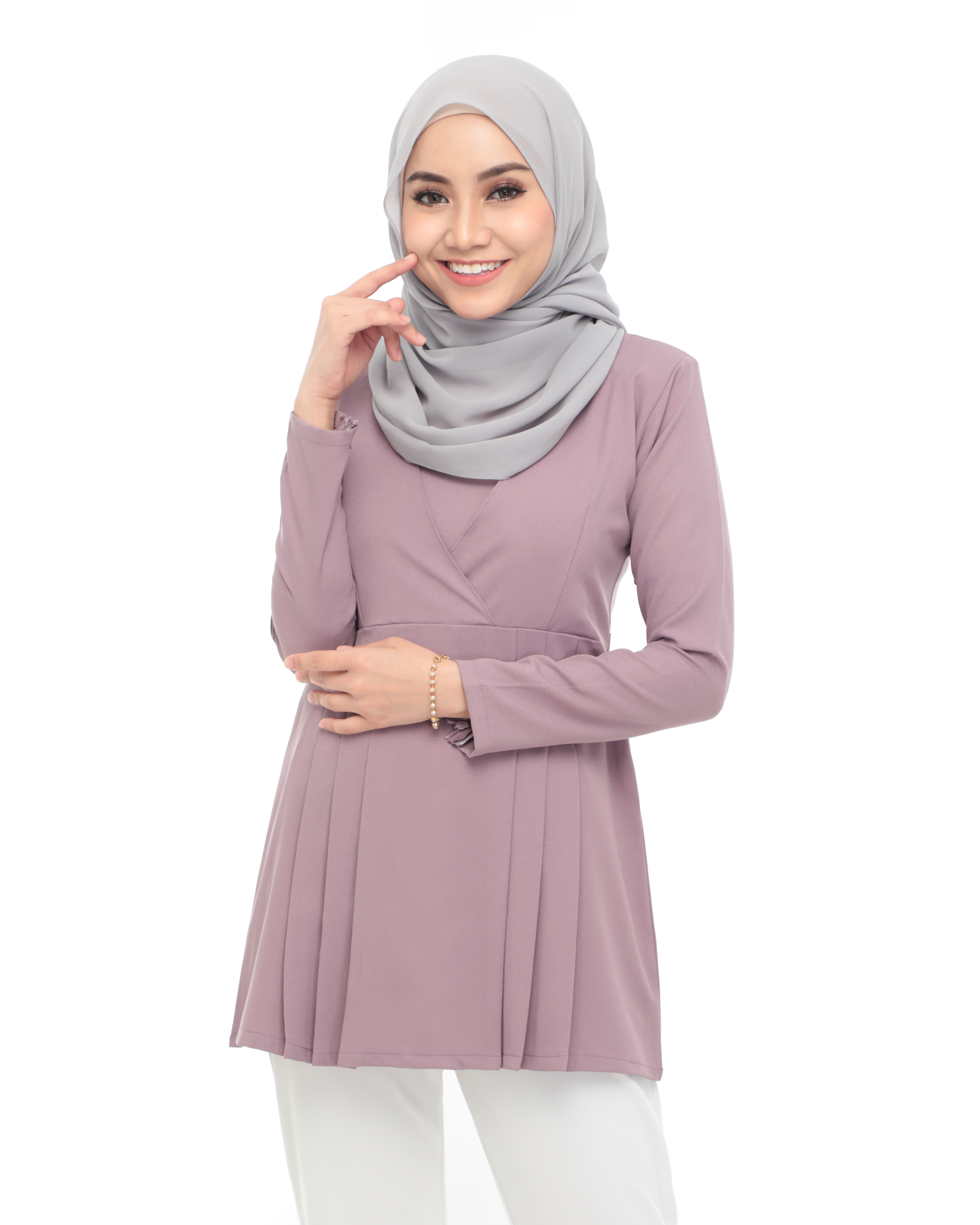 Carina Blouse -  Grape Thistle