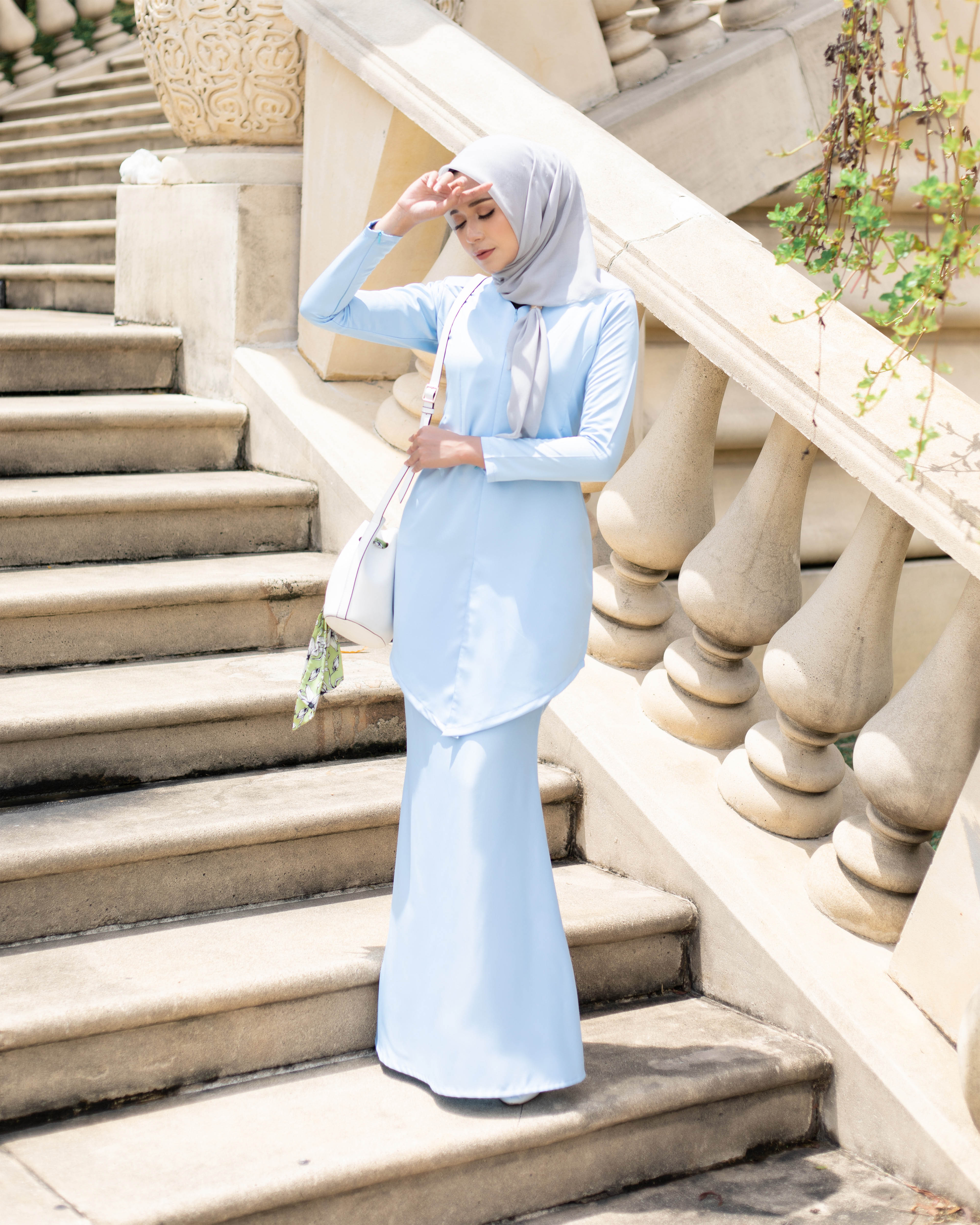 Fateema Kebaya - Baby Blue
