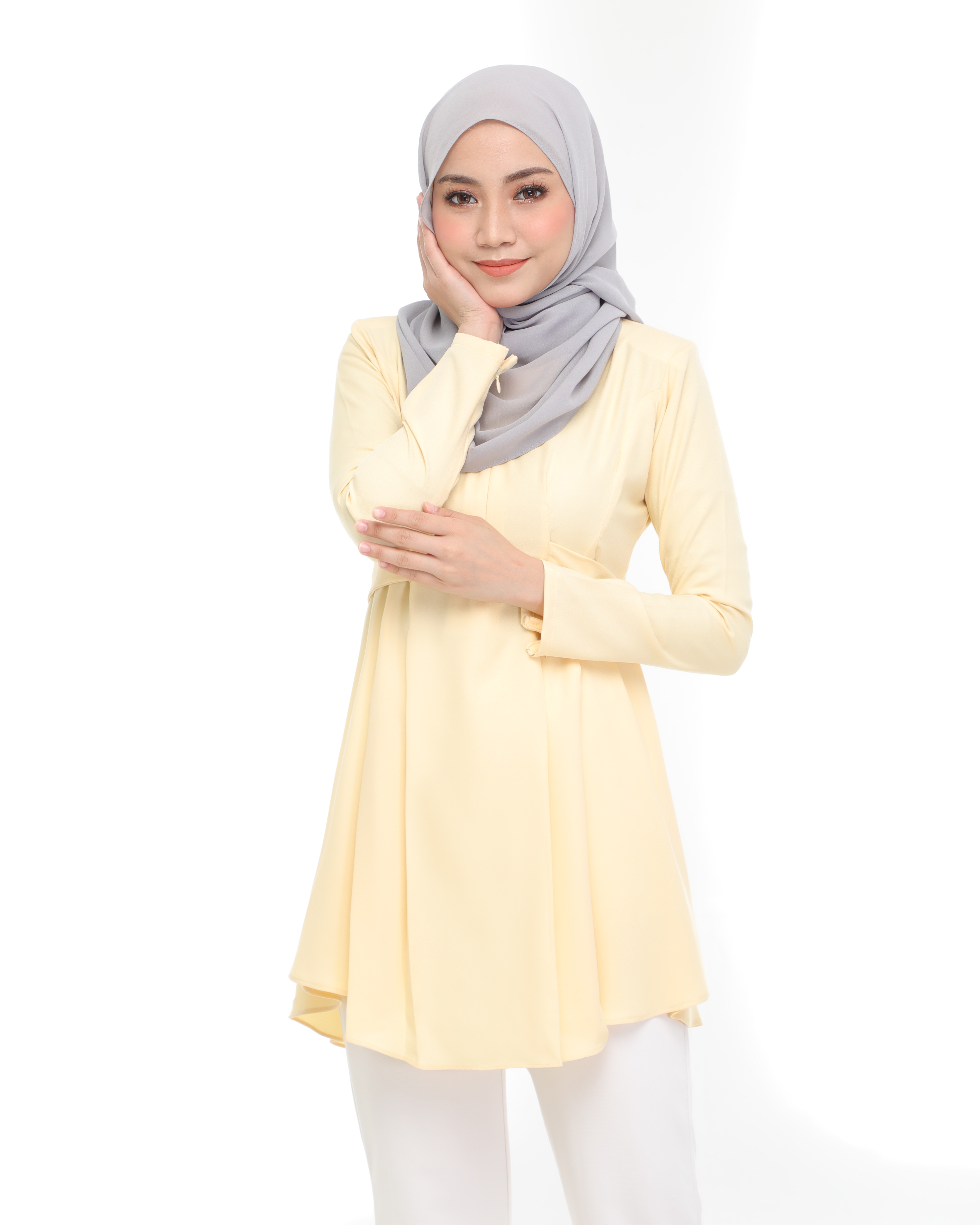 Callista Blouse - Soft Yellow