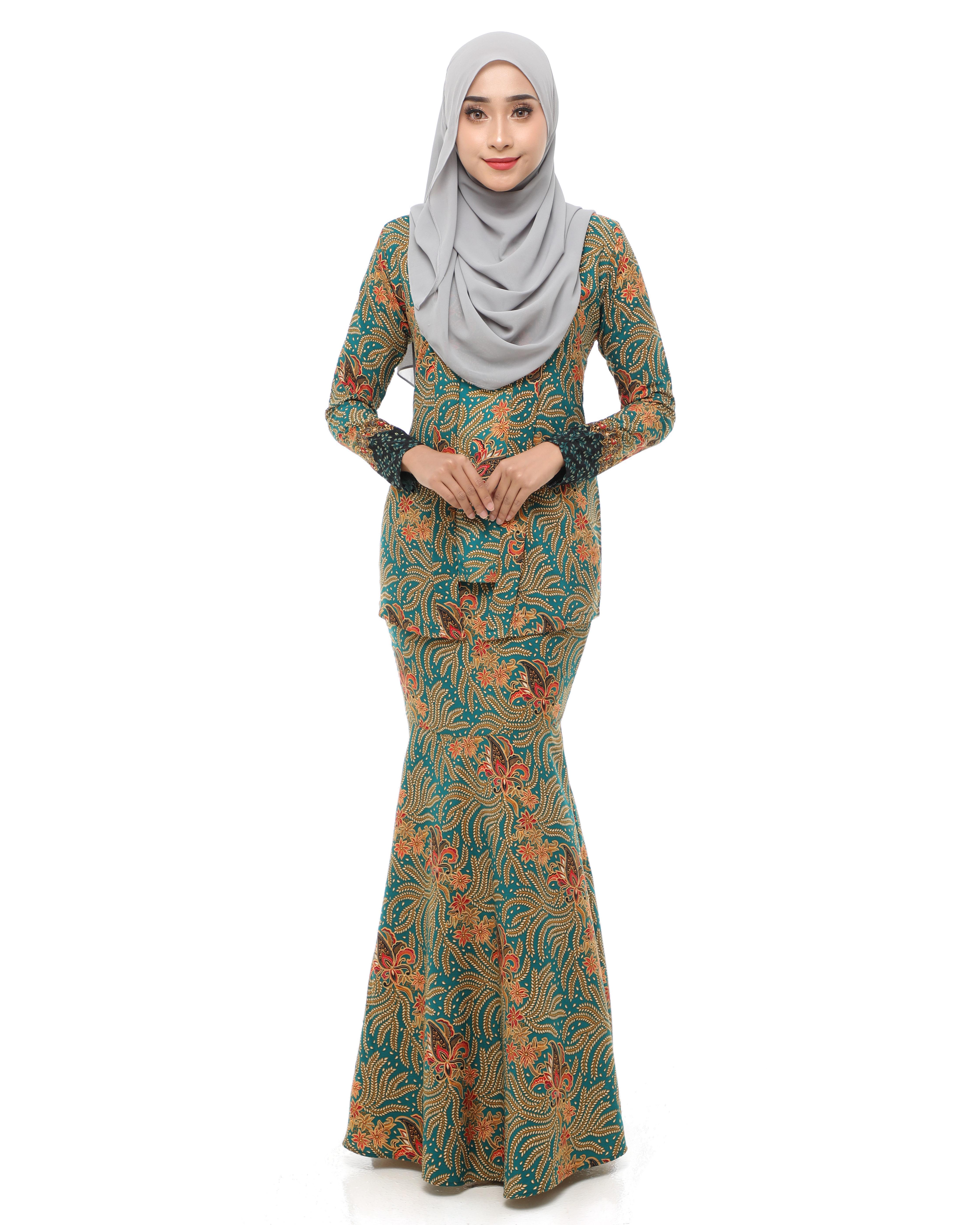 Dewi Batik - Elm Green
