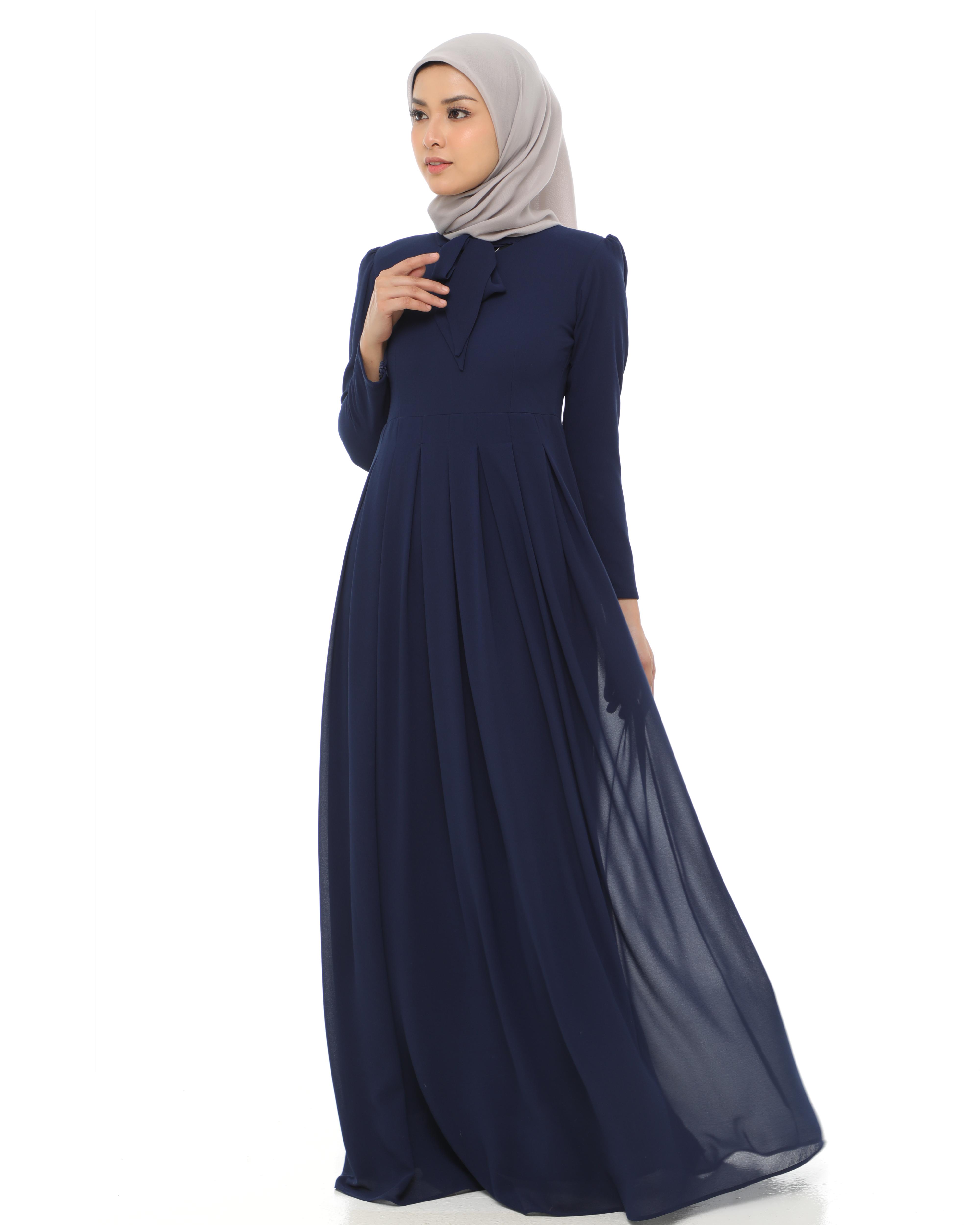 Nastashia - Navy Blue