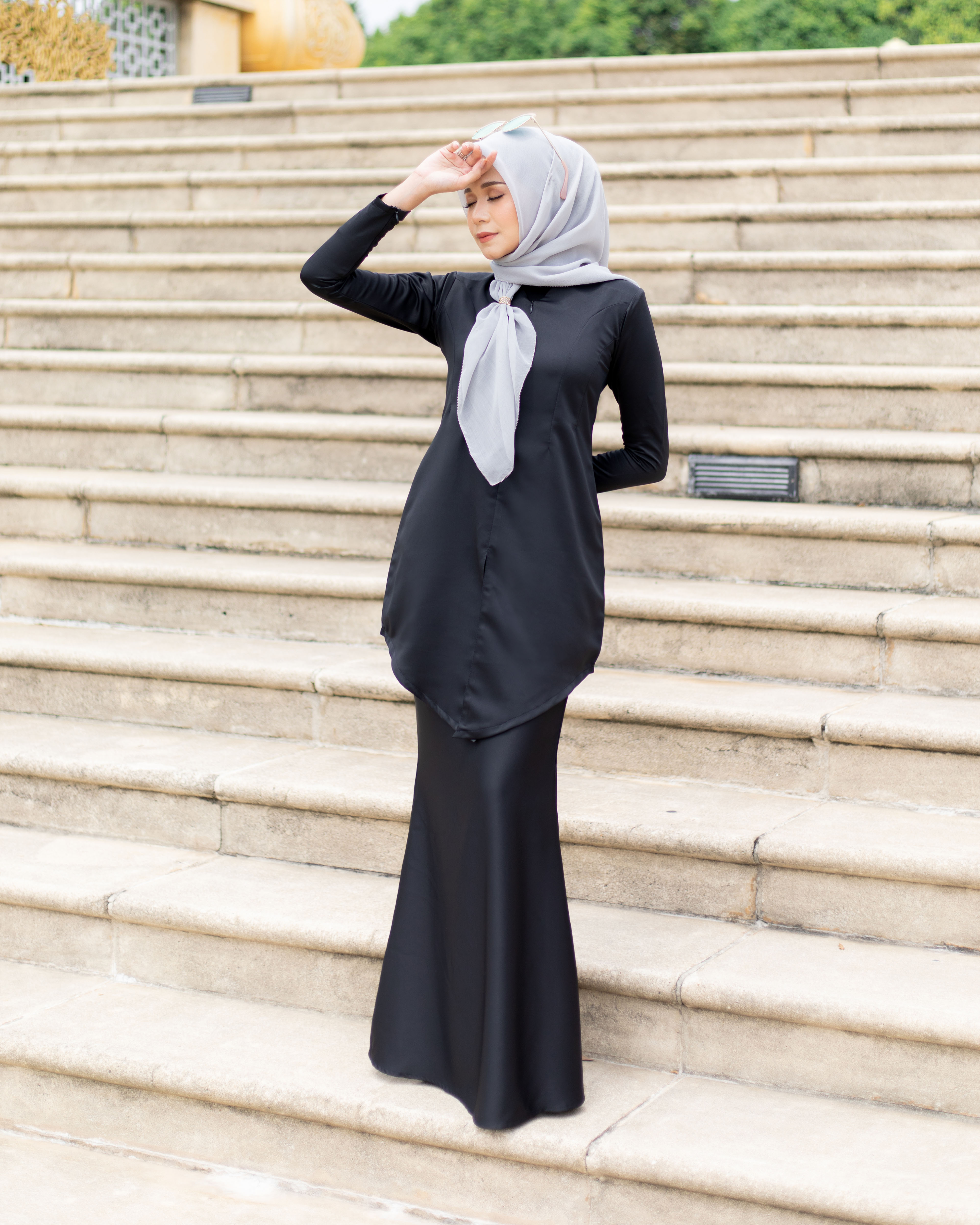 Fateema Kebaya - Black