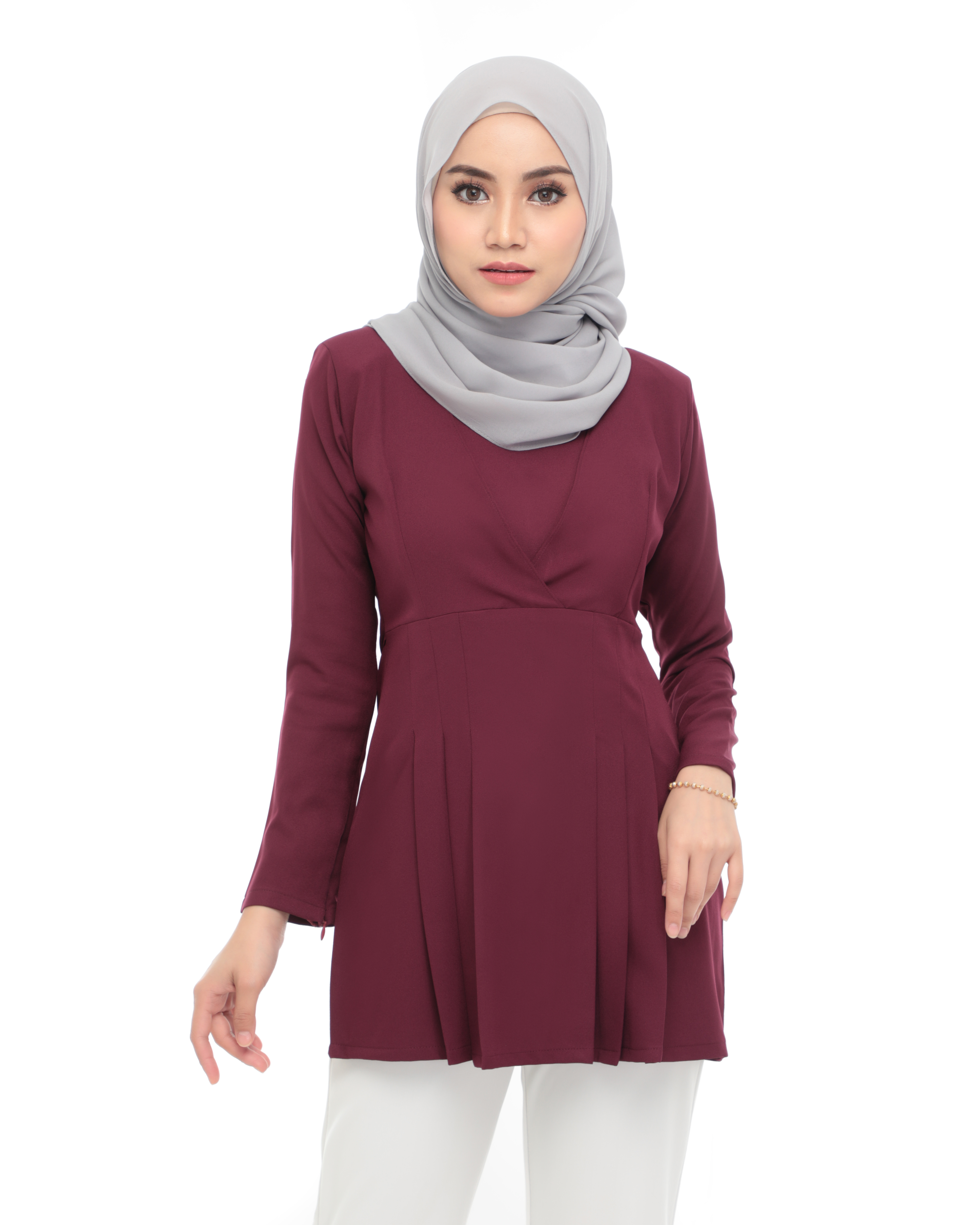 Carina Blouse -  Livid Purple