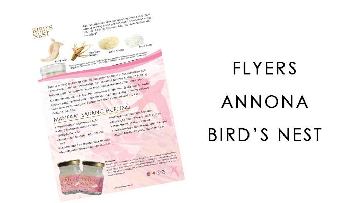 FLYERS ANNONA BIRD'S NEST