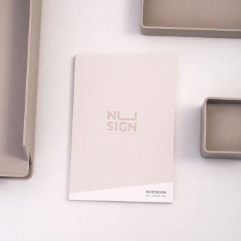 Nusign Cloth Art Notebook NS247