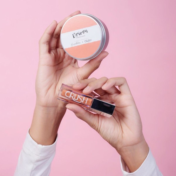 'I AM DRIVEN' LIP MATTE + DRIVEN CANDLE 80g - CRUSH