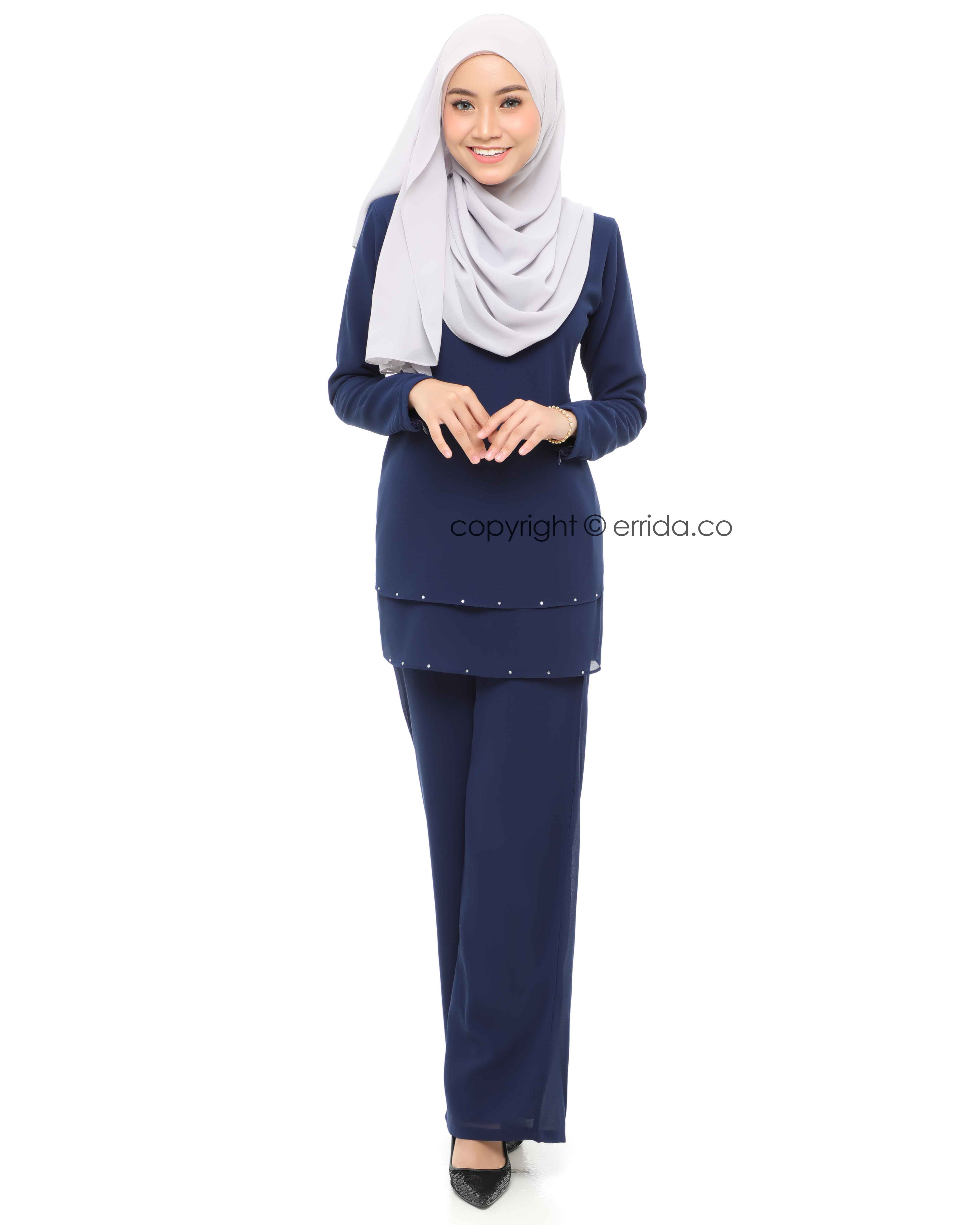 ELYSIA SUIT - NAVY BLUE
