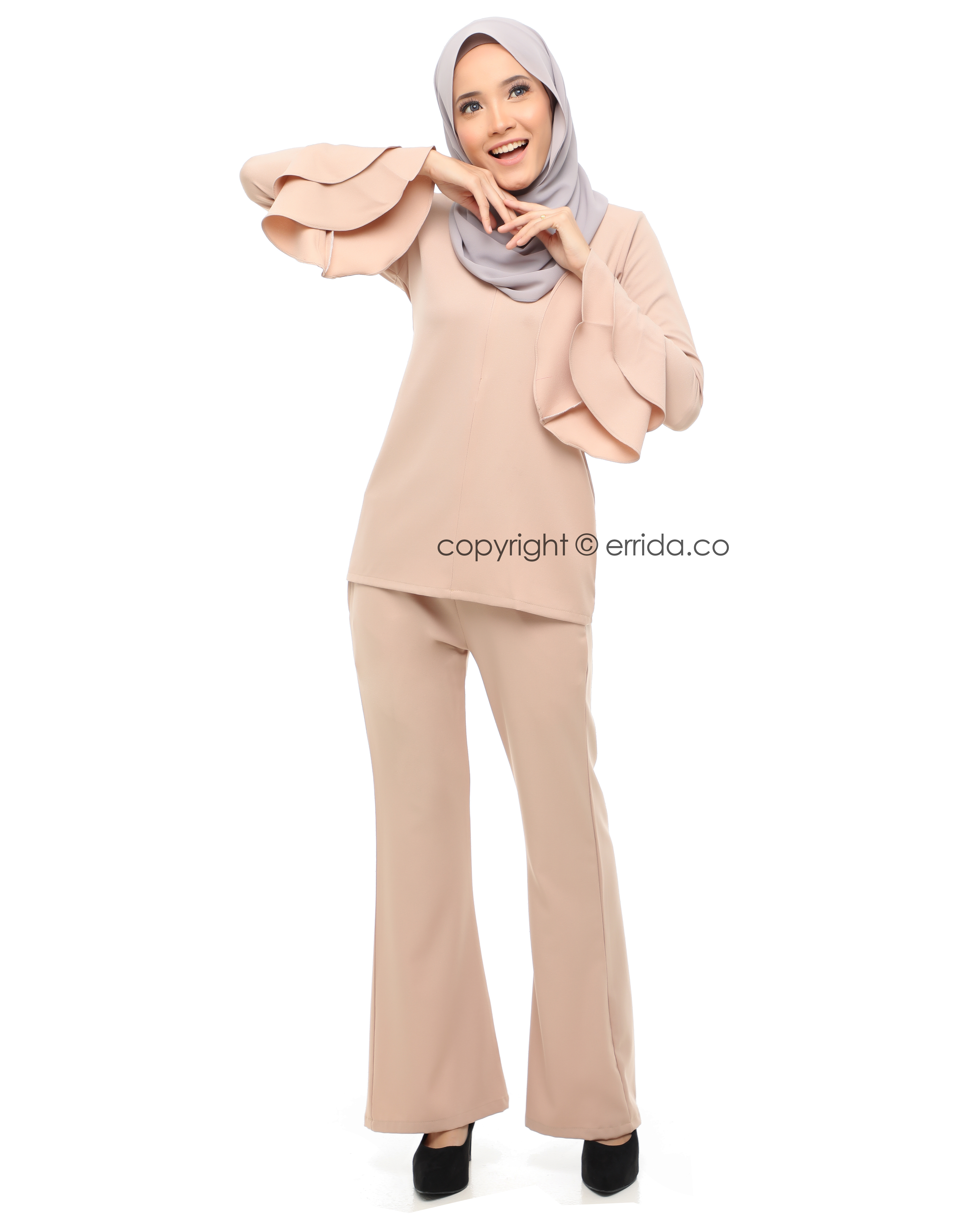 ADELIA SUIT - CREAM