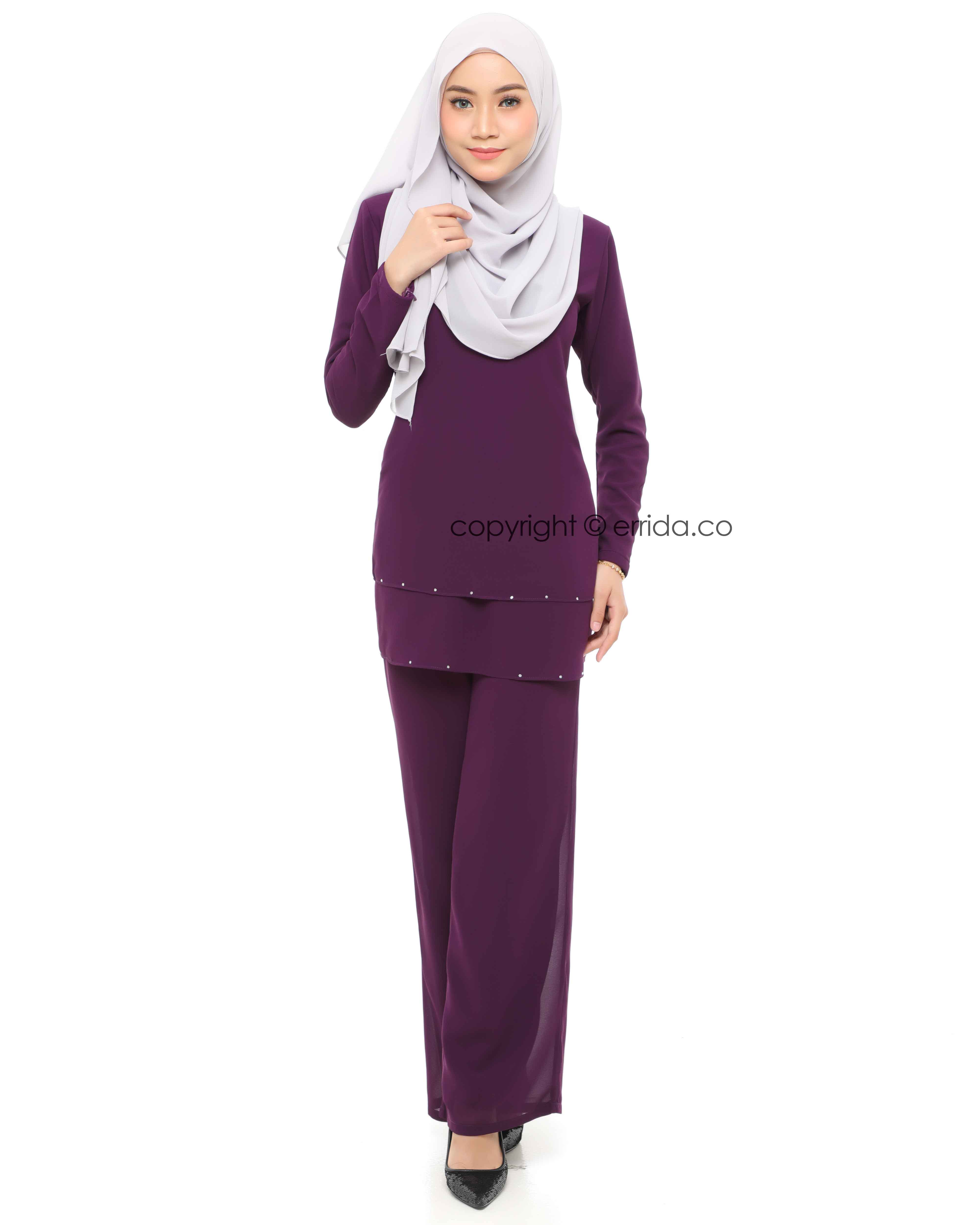 ELYSIA SUIT - DARK PURPLE