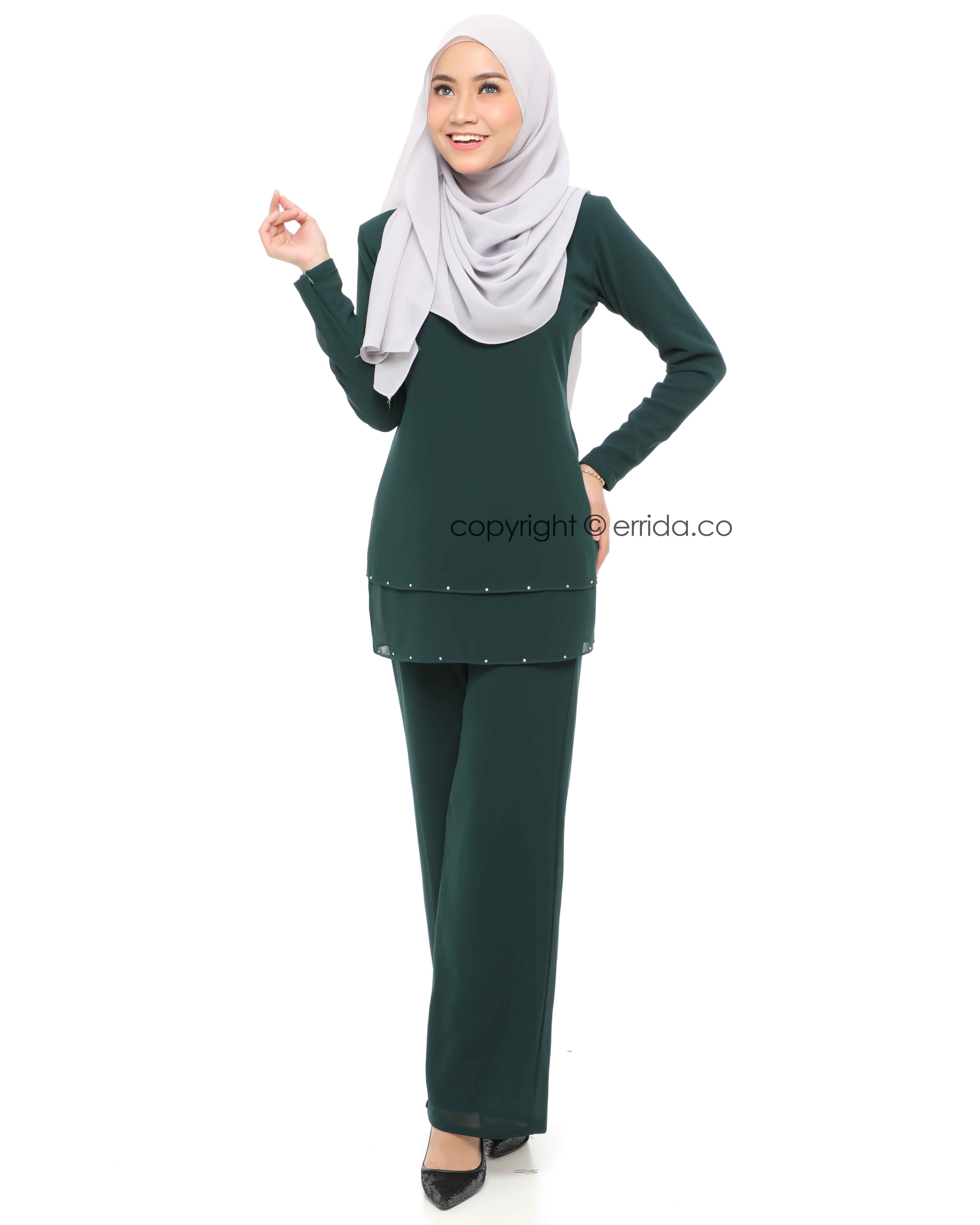 ELYSIA SUIT - EMERALD GREEN