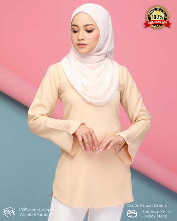 CHENTA BLOUSE - CREAM