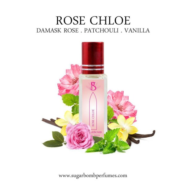 Rose Chloe EDP 8 ml   - Sugarbomb Perfumes