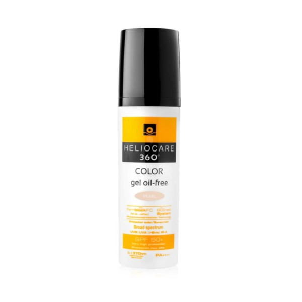 Heliocare Gel Oil Free Pearl Edition - Light  - Dermalene Skin, Hair & Nails