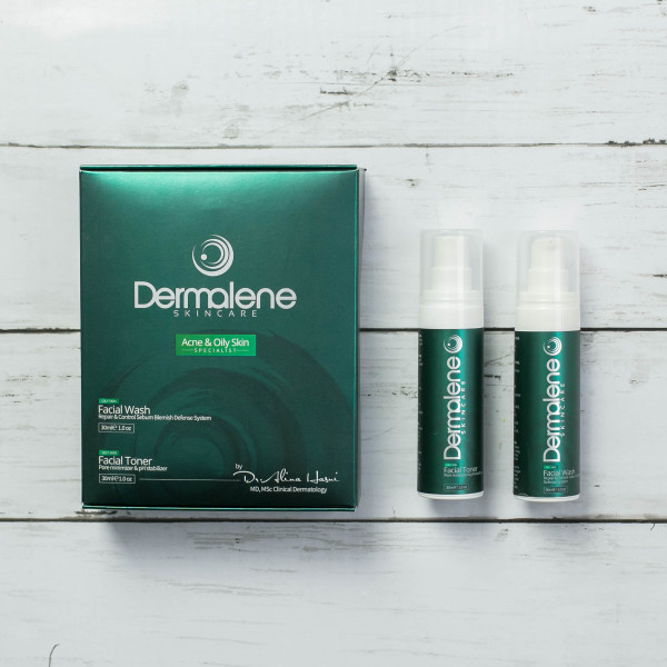 Dermalene Skincare - Acne & Oily Skin - Dermalene Skin, Hair & Nails