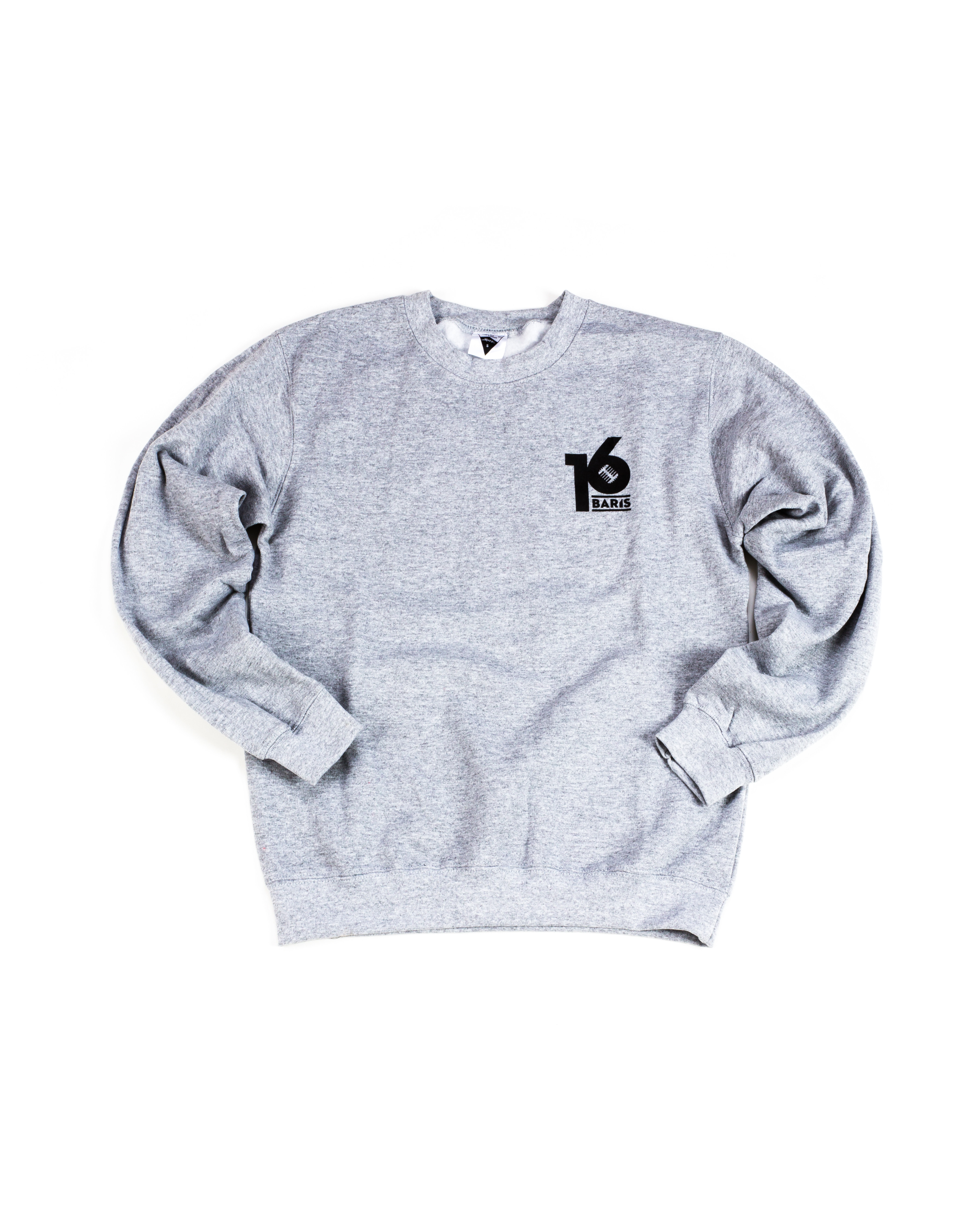 16 BARIS SWEATER - GREY