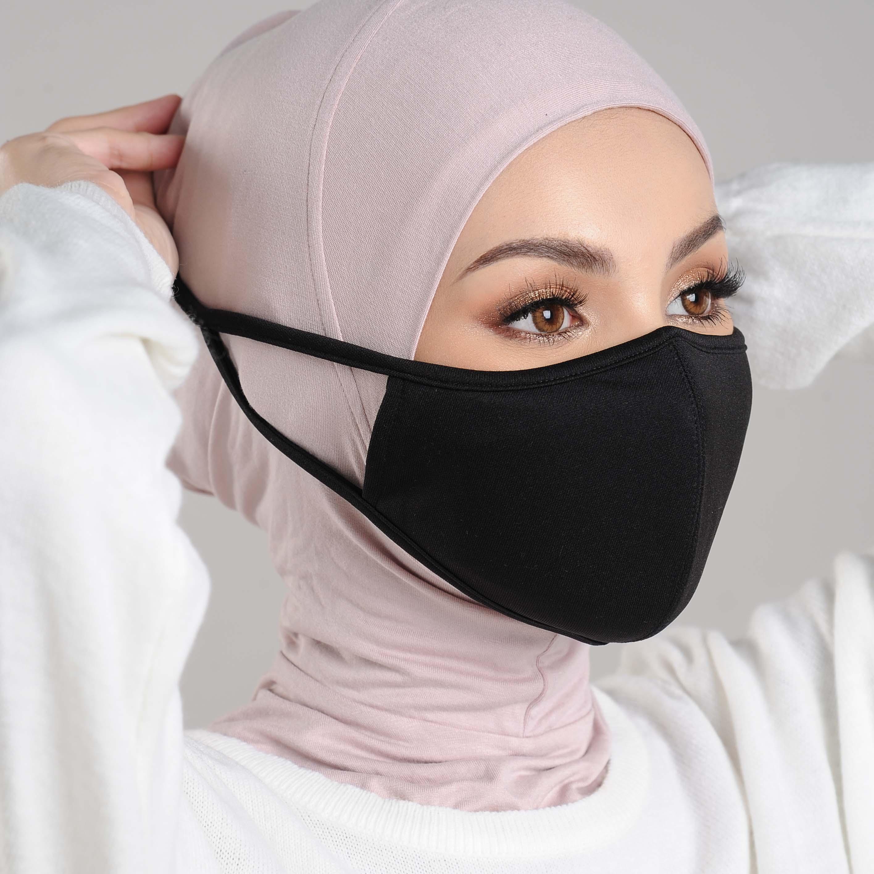 AZ Mask Single Tie-On Strap Black