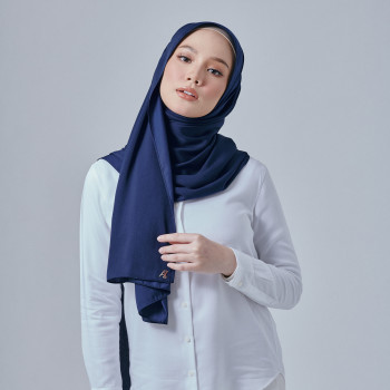 AZ Dove Shawl Navy Blue