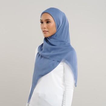 Eyelashes Cotton Steel Blue