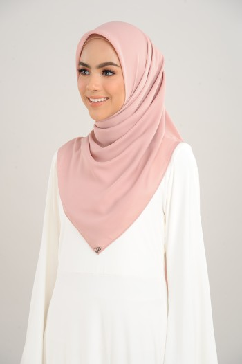 Chiffon Square Camille Pink