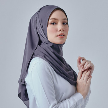AZ Dove Shawl Dark Grey