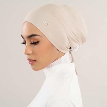 AZ Mya Tieback Snowcap Inner Linen