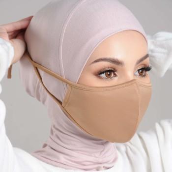 AZ Mask Single Tie-On Strap Nude