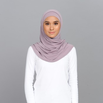 Sarah Tieback Scarf Dusty Purple