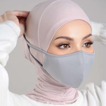 AZ Mask Single Tie-On Strap Grey