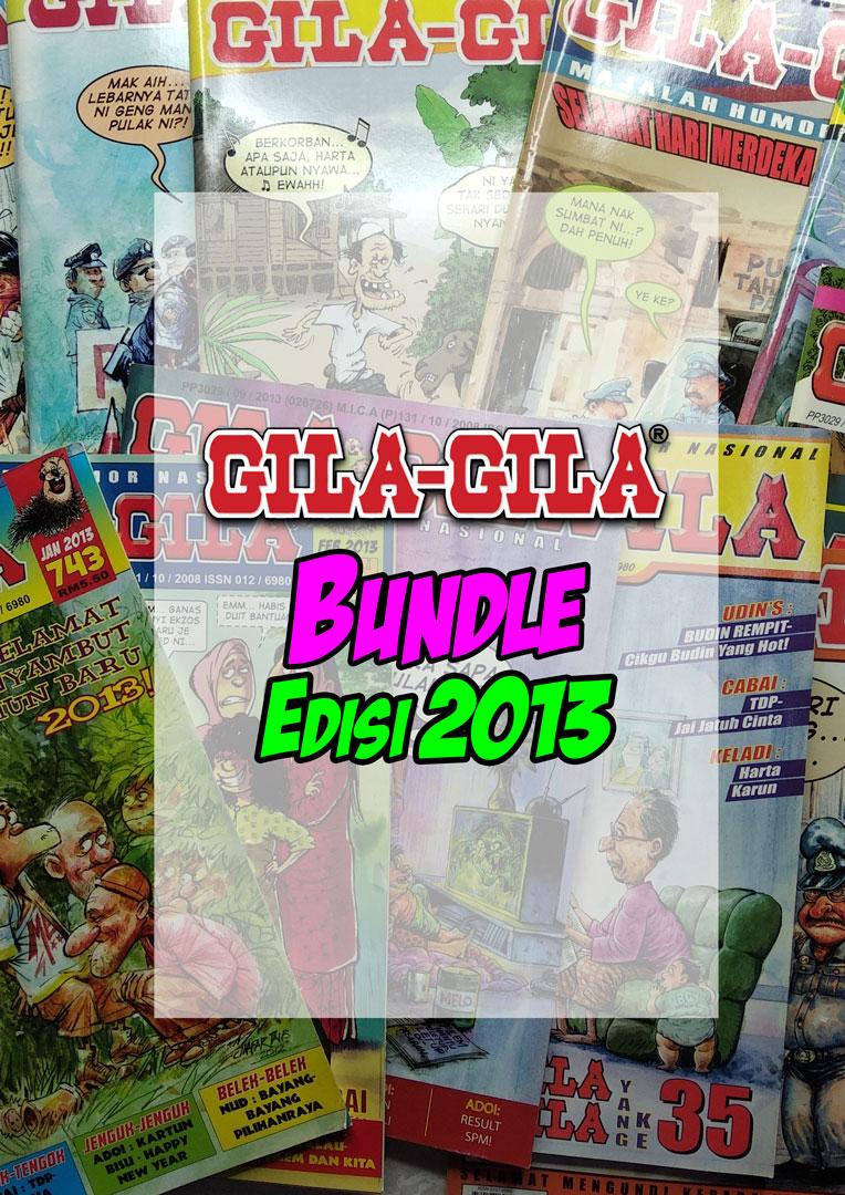 Majalah Gila-Gila Bundle Edisi 2013