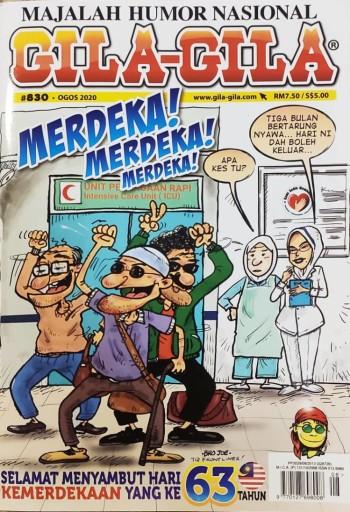 Majalah Gila-Gila #830 (Ogos 2020)
