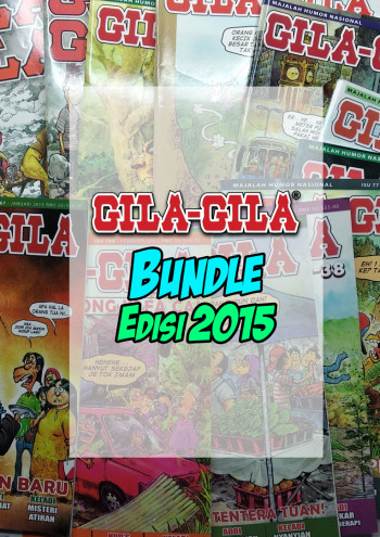 Majalah Gila-Gila Bundle Edisi 2015