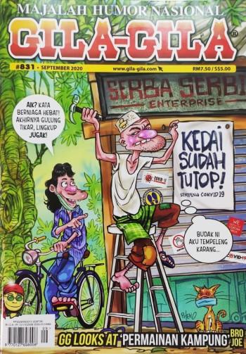 Majalah Gila-Gila #831 (September 2020)