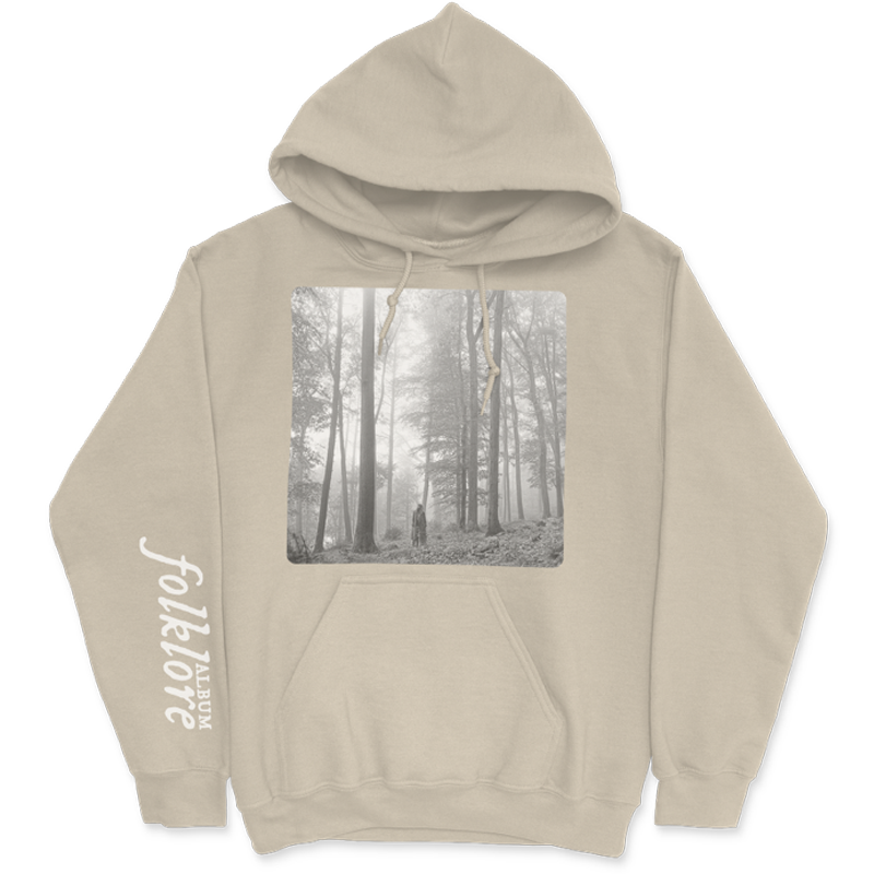 """the """"in the trees"""" tan hoodie"""