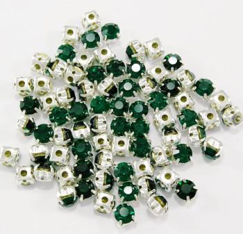 SS 34 montees - Emerald B8  ( 100 pcs )