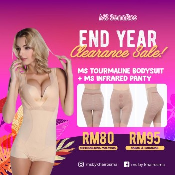 MS TOURMALINE BODYSUIT + MS INFRARED PANTY (EXTRA COMBO) - OFFER