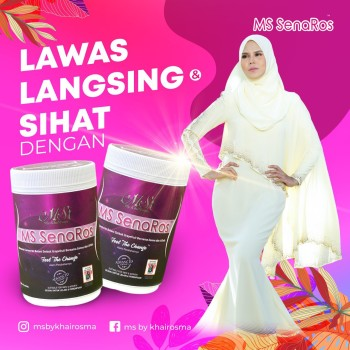 PACKAGE COMBO MS SENAROS (PAKEJ 30HARI) + MS TOURMALINE BODYSUIT