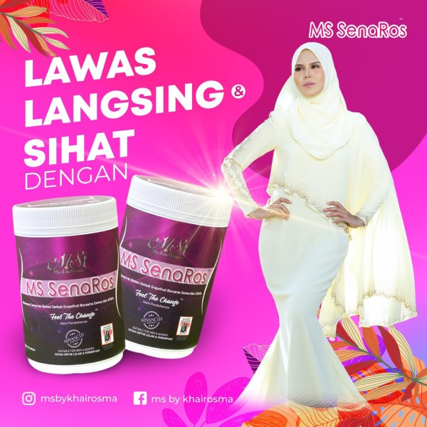 PACKAGE COMBO MS SENAROS (PAKEJ 30HARI) + MS TOURMALINE BODYSUIT  - MS SENAROS