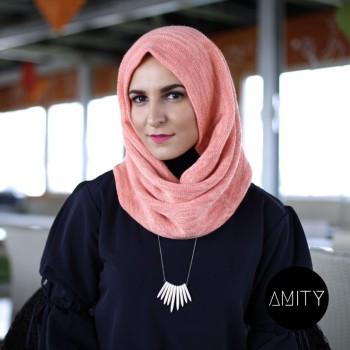 Amity Scarf Twist Peach