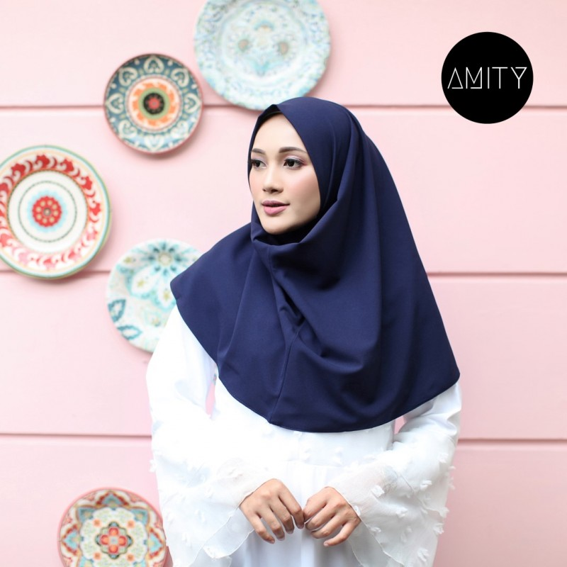 AMITY LONG SQUARE INSTANT NAVY