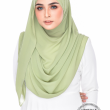 Jasmeen Crystal Swarovski in Willow Green - MatBunga Exclusive